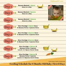 176 Best Monthly Food Chart For Babies Images In 2019 Food
