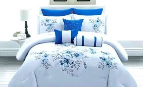 royal blue sheets bedding sets piece queen comforter set bed sheet plain navy