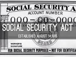 Image result for the social security act of 1935