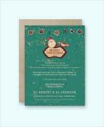 Free Christmas Invitation Template 25 Printable Christmas Invitation Templates In Illustrator