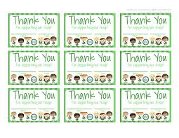 Free Printable Thank You Postcards My Fashionable Designs Girl Scouts Free Printable Thank