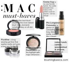 mac makeup must haves a ping list of my repeat always have