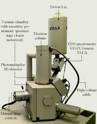 General View And The Main Parts Of High Resolution Scanning Electron