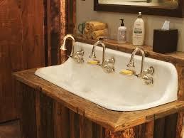 rustic pine bathroom vanities. New Bathroom Vanity With Sink And Faucet Antique Faucets HGTV Rustic Pine Vanities