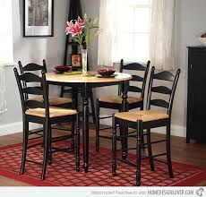 Round Counter Height 5piece Dining Set Email Save Photo black rubber  wood frame