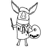 13 Best Olivia The Pig Images On Pinterest Coloring Books