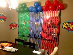 Pj Mask Party Decorations PJ Mask Party Landon's Birthday Pinterest Mask party Pj 43