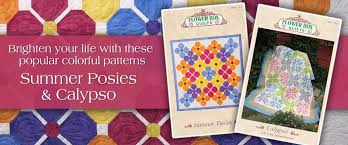 Flower Box Quilts - Sewing and Quilting Patterns by Michele Crawford & Previous; Next Adamdwight.com