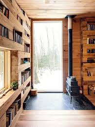 Reading Room In House Studio Padron Private Library Cabin Upstate New York Insidehook