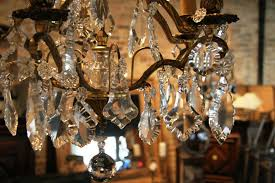 antique crystal chandeliers parts