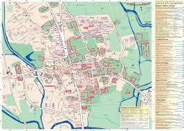 oxford city centre map with complete tourist information