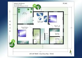 duplex house plans 30x40 east facing site for west in bangalore
