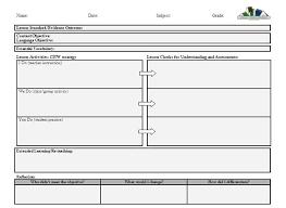 Download Lesson Plan Template Lesson Plan Templates For Spanish Teachers Shmp Info