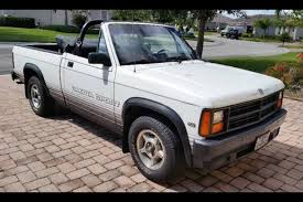 Dodge Dakota Convertible: Feel the Wind in Your Mullet - Autotrader
