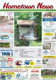 Hometown News August 25, 2016 by Hometown News - issuu