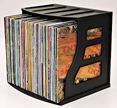 Photo Album Display Stand Amazon Stackable Vinyl Record Storage Crate LP Album Holder 67