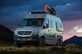 the winnebago revel is an off road capable van proving that four wheel drive campers are here to stay courtesy of winnebago