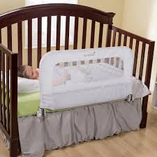 kidco convertible crib bed rail wood