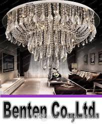 large round modern crystal chandelier for ceiling luxury foyer led lighting fixtures led res de cristal home lamps llfa edison bulb chandelier capiz