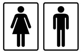 Male Female Bathroom Symbols Awesome Decorating Ideas