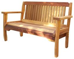 wood country cabbage hill red cedar outdoor garden bench transitional outdoor benches by the porch swing