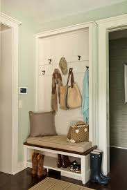Built In Coat Rack Comfort Gray Cottage Laundry Room Sherwin Williams Comfort 19