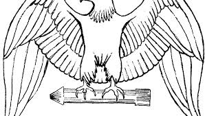 Coloring Bald Eagle Coloring Pages Printable Bald Eagle Coloring