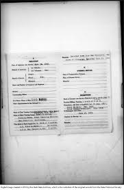 0046 - State Historical Society World War I Service Questionnaires - Home
