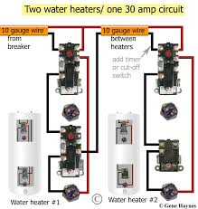 water heater t stat wiring wiring diagrams best how to wire water heater thermostats hampden wiring for star t reduntant thermostats two water heaters