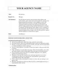 job description for receptionist cv professional resume cover job description for receptionist cv sample receptionist job description medical receptionist job description