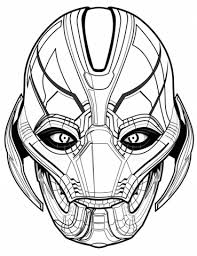 Small Picture Avengers Ultron coloring page Free Printable Coloring Pages