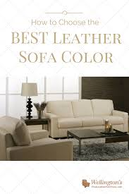 Best leather sofa Rodgers Leather Furniture Usa How To Choose The Best Leather Sofa Color For Your Living Room