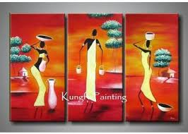 2018 100 handmade modern 3 panel wall art canvas abstract african canvas art landscape decoration home gift from kungfuart 49 25 dhgate com on 3 panel wall art canvas with 2018 100 handmade modern 3 panel wall art canvas abstract african