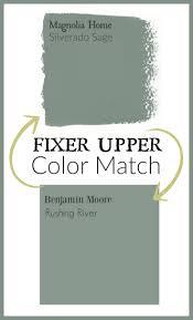 benjamin moore paint colorFixer Upper Paint color matched to Benjamin Moore paint  Home