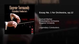 essay no for orchestra op  essay no 1 for orchestra op 12
