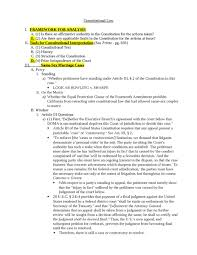 Con Law Outline Term Paper Example