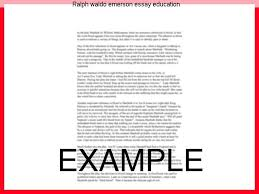 ralph waldo emerson essay education coursework help ralph waldo emerson essay education emerson s views on american education and ralph waldo emerson and