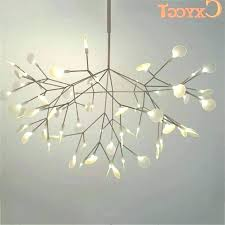 ceiling lights tree branch ceiling light chandelier modern white branches chandeliers suspension hanging