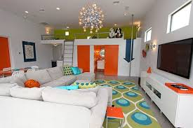 loft furniture ideas. view in gallery playful loft living room with bold colors furniture ideas e
