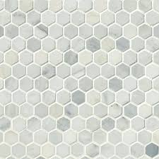 hexagon carrara tile white marble honed 1 hexagon mosaic tile large hexagon carrara tile carrara marble