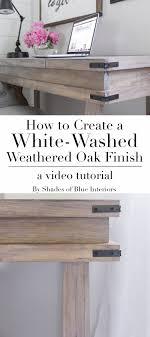 whitewash oak furniture. beautiful whitewash how to achieve a whitewashed weathered oak finish on plain smooth pine by  creating with whitewash oak furniture