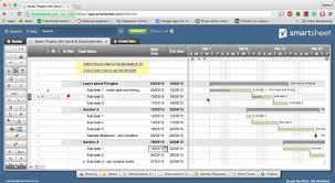 How To Create Gantt Chart In Smartsheet Gantt Charts Using Smartsheet