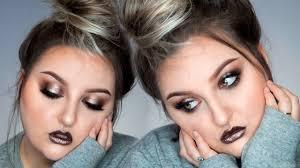 cool toned smokey eye new makeup geek foiled pigments glosses talk thru makeup tutorial