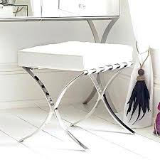 vanity stools and chairs. Incredible Lovely Bathroom Stools Chairs Tools Endearing Great Vanity Chair Pertaining To For Bathrooms And