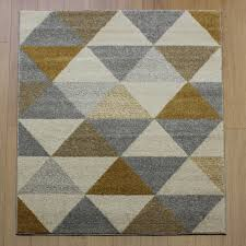 accent prism yellow abstract rug rugs in the uk
