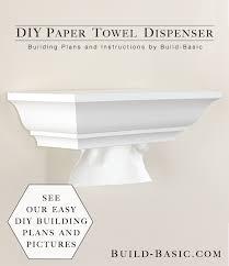 diy paper towel dispenser by build basic project opener image