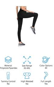 Viv Collection Size Chart 10 Best Black Leggings 2019 Buying Guide Geekwrapped