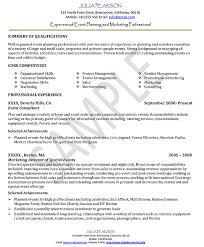 Event Manager Resume Samples Event Planner Resume Objective Event Coordinator Resume