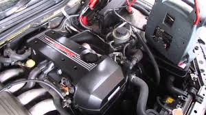 Toyota Altezza front cut BEAMS 3SGE auto - YouTube