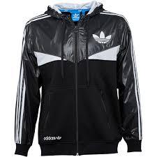 adidas jacket mens. adidas originals mens colorado windbreaker jacket black/white